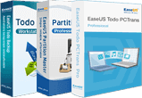 Todo PCTrans Professional + Todo Backup Workstation + Partition Master Pro