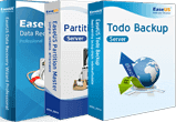 Todo Backup Server + Partition Master Server + Data Recovery Wizard Pro